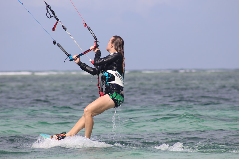 Kite Surfing in diani beach 4