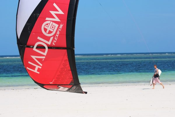 Kite Surfing in diani beach 2