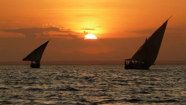 Diani sunset cruise 1
